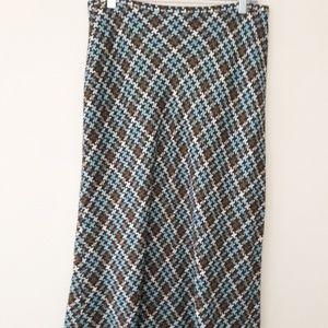 Emma James Multi-Color Maxi Skirt